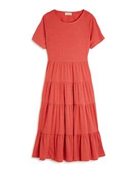 Hayden Los Angeles - Girls' Tiered Ruffled Midi Dress - Big Kid