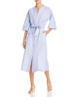 Tory Burch - Striped Shirt Dress
