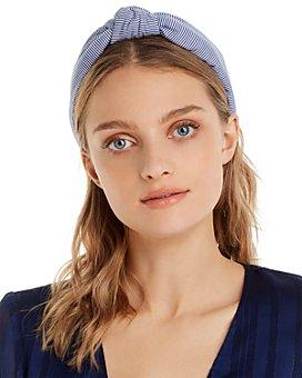Lele Sadoughi - Striped Knotted Headband