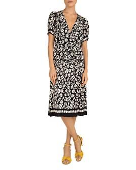 Gerard Darel - Stefania Floral-Print Wrap Dress