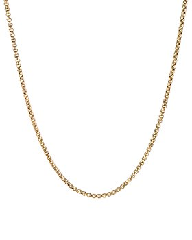 David Yurman - 18K Yellow Gold Box Chain Necklace, 26""