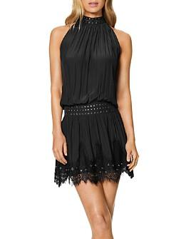 Ramy Brook - Kelsey Studded Lace-Trim Dress