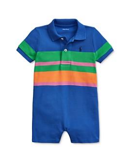 Ralph Lauren - Boys' Cotton Stripe Polo Shortalls - Baby
