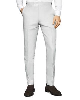 REISS - Well Melange Slim Fit Suit Pants