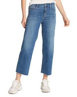 Sanctuary - Non-Conformist Wide-Leg Cropped Jeans in Songbird