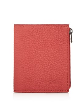 Longchamp - Essential Leather Bi-Fold Wallet