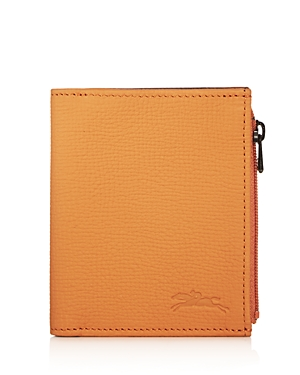 Longchamp Essential Leather Bi-Fold Wallet
