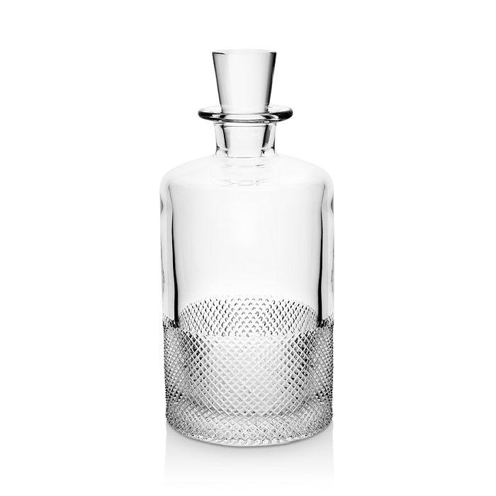 Richard Brendon Diamond Glass Decanter