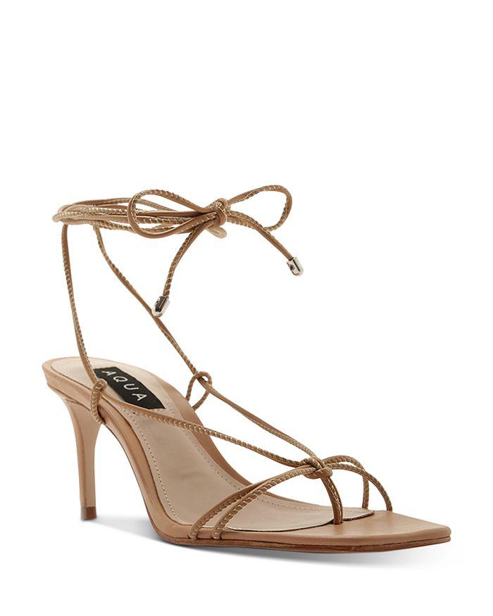 Womens Strappy Heels