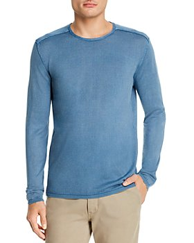 John Varvatos Star USA - Walter Cotton Acid-Washed Long-Sleeve Crewneck Tee