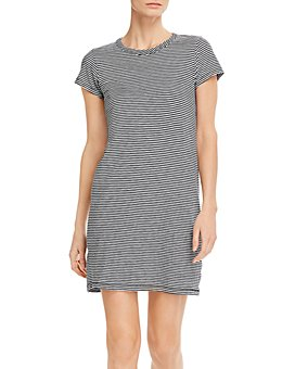 rag & bone - Cotton Striped Tee Dress