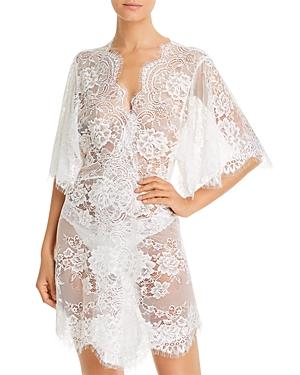 Homebodii Kassiah Lace Short Robe