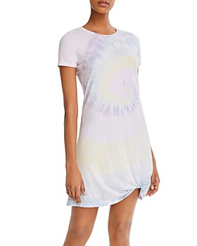 Generation Love - Holly Twisted Tie-Dyed Tee Dress