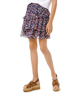 MICHAEL Michael Kors - Garden Patch Ruffled Skirt