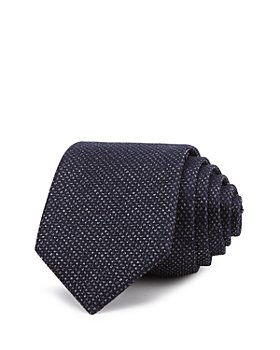 Theory - Roadster Vida Textured Silk Skinny Tie