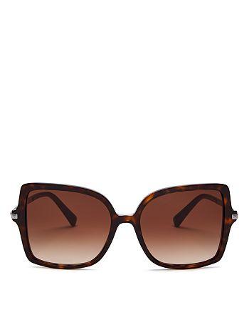 Valentino - Women's Square Sunglasses, 56mm