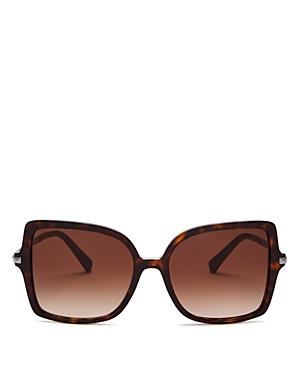Valentino Women's Square Sunglasses, 56mm