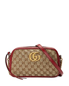 Gucci - Marmont Small GG Canvas Shoulder Bag