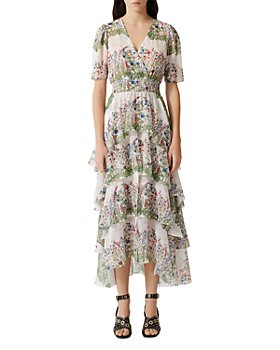 Maje - Raffle Floral-Print Maxi Dress