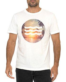 SOL ANGELES - Sunset Cotton Logo Graphic Tee