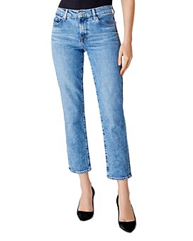 J Brand - Adele Mid-Rise Straight Ankle Jeans in Chadron