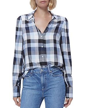 Paige Enid Plaid Shirt-Women