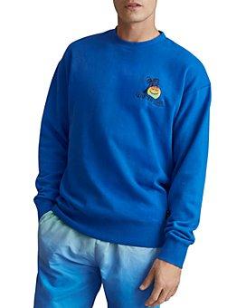 Scotch & Soda - Cotton Embroidered Slim Fit Sweatshirt