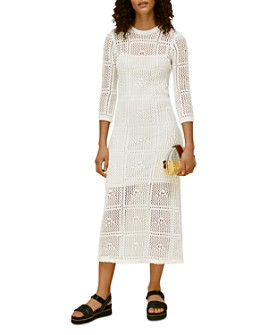 Whistles - Crocheted Midi Dress