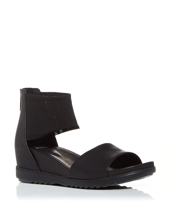 Eileen Fisher - Women's Vibe Wedge Sandals