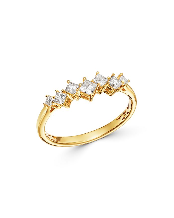 Bloomingdale's - Diamond Princess Scatter Ring in 14K Yellow Gold - 100% Exclusive