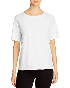 Eileen Fisher - Organic Cotton Crewneck Tee