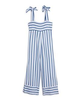 Habitual Kids - Girls' Hannah Striped Jumpsuit - Big Kid