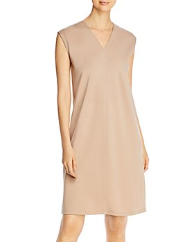 Eileen Fisher - V-Neck Shift Dress