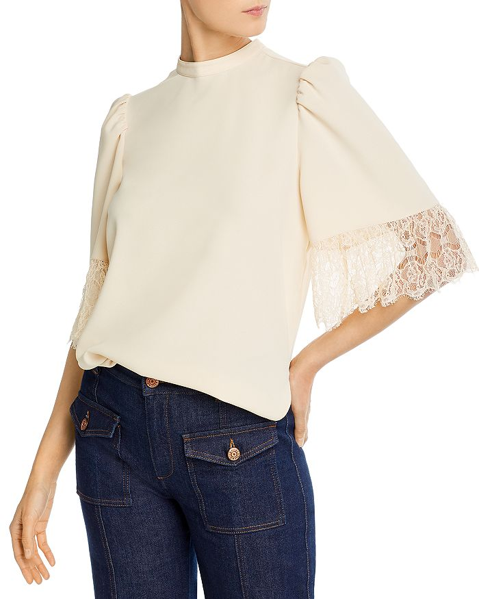 See by Chloé - Embellished Crepe Blouse