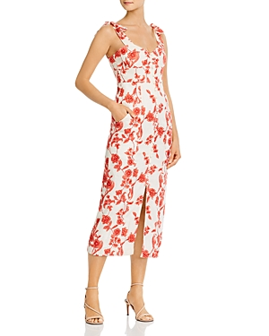 Rebecca Taylor Scarlet Embroidered Dress-Women
