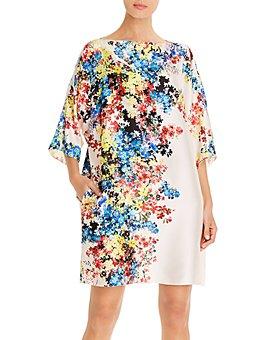 PAULE KA - Floral Print Shift Dress
