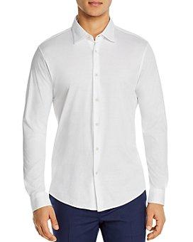 Z Zegna - Mercerized Cotton Jersey Slim Fit Sport Shirt