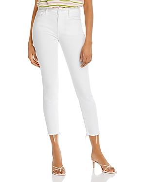 Mother Looker High-Rise Skinny Ankle Jeans in Fairest Of Them All