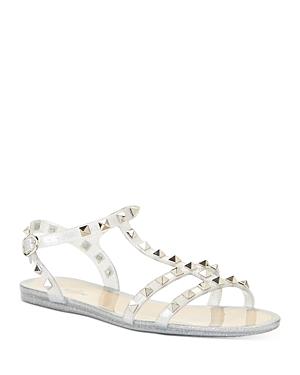 Valentino Garavani Women\\\'s Rockstud Slingback Sandals
