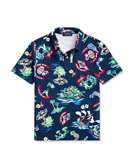 Ralph Lauren - Boys' Jamaica Cotton Printed Shirt - Big Kid