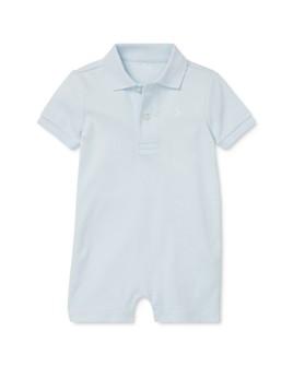 Ralph Lauren - Boys' Cotton Polo Shorts Overalls - Baby
