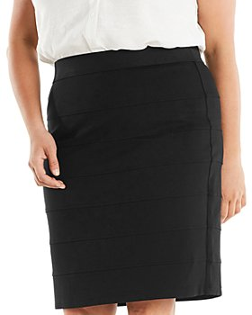 Estelle Plus - Trinity Ponte Skirt