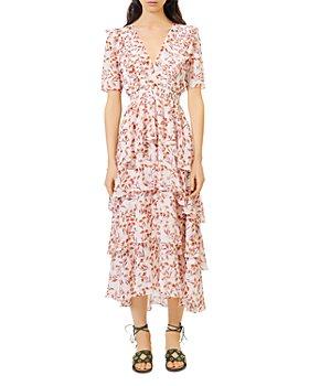 Maje - Romina Tiered Maxi Dress