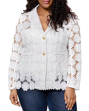 Crochet-Lace Blazer