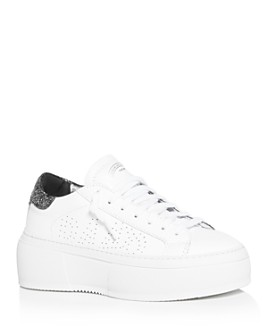P448 - Women's Louise Platform Low-Top Sneakers - 100% Exclusive