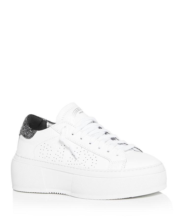 P448 - Women's Louise Platform Low-Top Sneakers - 100% Exclusive