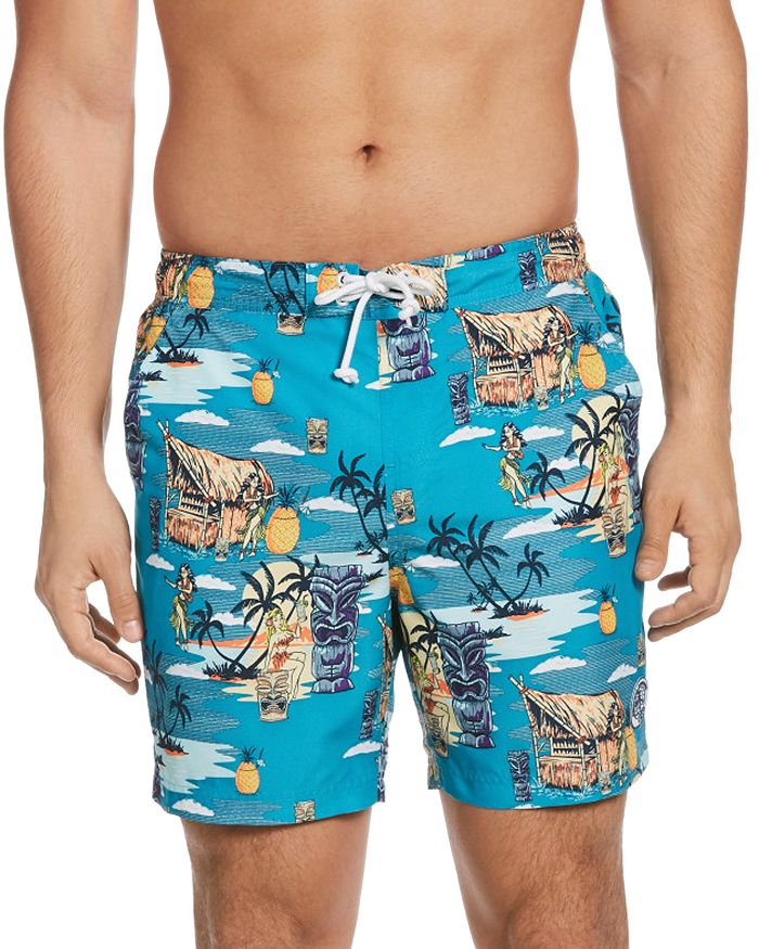 Original Penguin - Tiki Print Swim Shorts