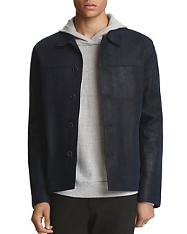 John Varvatos Collection - Sheepskin Slim Fit Jacket