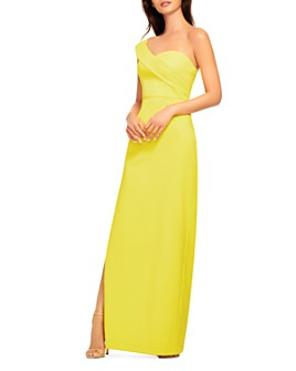Aidan by Aidan Mattox - One-Shoulder Evening Gown