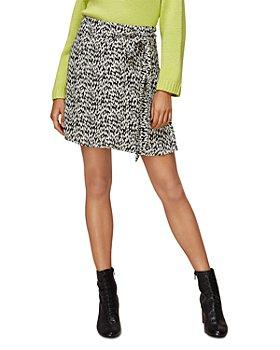 Whistles - Petal Print Wrap Skirt